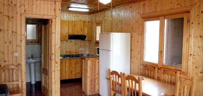 Caba a de madera el castillico complejo turistico - Cabanas de madera los pinos ...